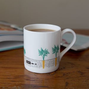 Seasonal Carrots Garden Mug