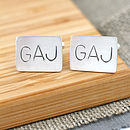 personalised best man goft cufflinks