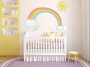 Pastel Children's Wall Stickers - children's room accessories