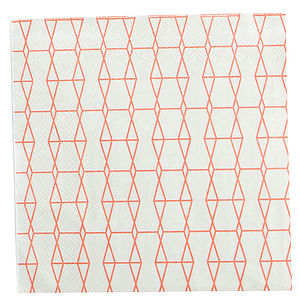 Patterned Paper Napkins - shop by price