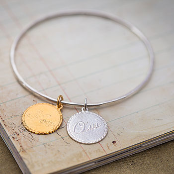 Oui And Non Charm Bangle