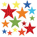 Childrens Bright Star Wall Stickers