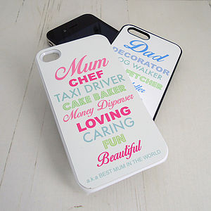 Definition iPhone Case - home