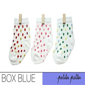 Petites Pattes Newborn Baby Socks - gift sets
