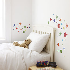 Childrens Bright Star Wall Stickers - children's room accessories