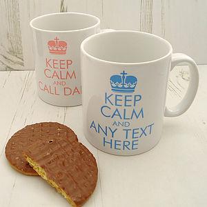 'Keep Calm And…' Mug - mugs