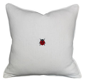 Little Ladybird Cushion - cushions