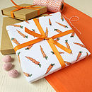 Multipurpose Carrot Gift Wrap Set