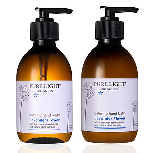 Calming Lavender Flower Luxury Hand Care Gift Set - health & beauty