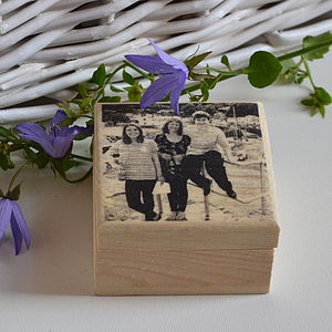 Personalised Wooden Trinket Box - albums & keepsakes