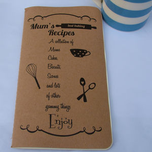 Personalised Little Recipe Book