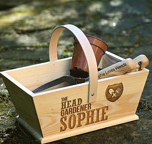 Personalised 'Head Gardener' Trug - view all mother's day gifts