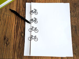 Bicycle Paper Clips - interests & hobbies