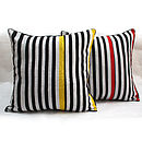 Zebra Pop Cushion