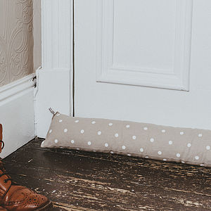 Dotty Draught Excluder - door stops & draught excluders