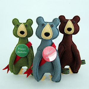 Personalised Celebration Bears