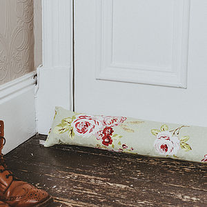 English Rose Draught Excluder - door stops & draught excluders