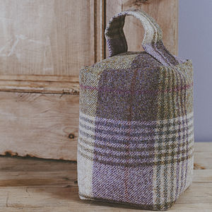 Huntingtower Tweed Doorstop - decorative accessories