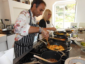Cookery Course With Reza Mahammad - boxes & hampers
