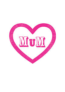 'Mum' Happy Mother's Day Card