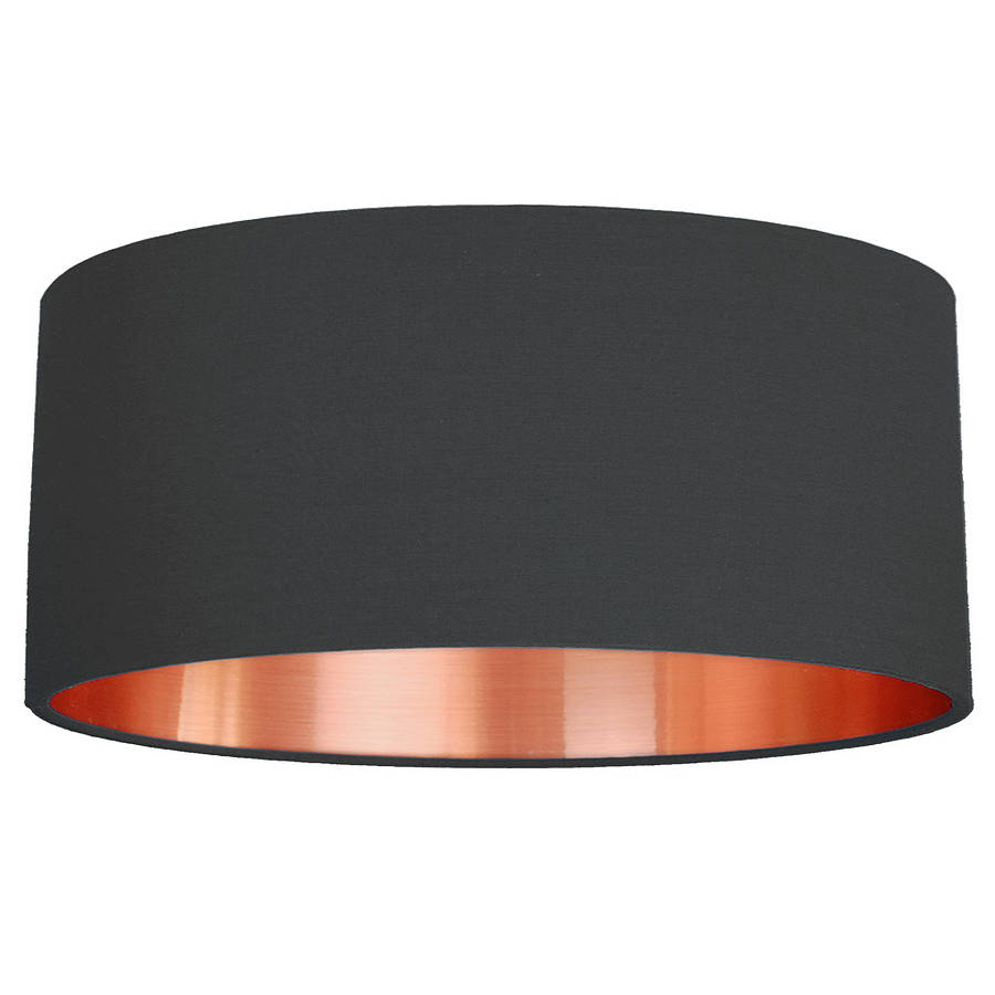 Copper Lamp Shades Sale ... Brushed Copper Lined Lamp Shade Choice Of Colours; Small; Small Deep; Medium; Large ...