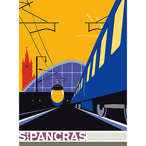 St. Pancras International Station Print - shop by price