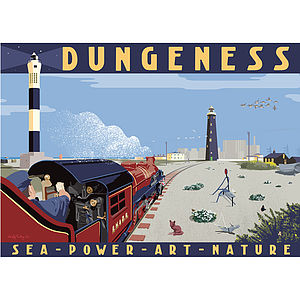 Dungeness, R.H.D.R. Print - shop by price
