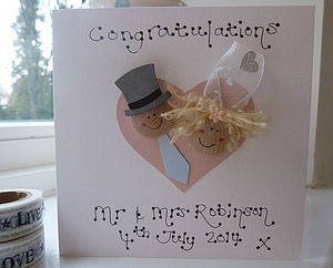 Wedding Day Dollie Card