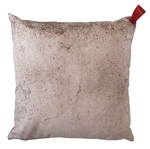 Concrete Slab Cushion - patterned cushions
