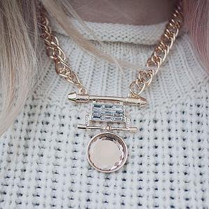 Statement Jewel Necklace - necklaces & pendants