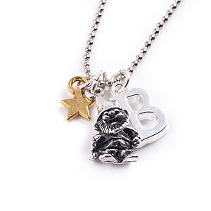 Little Gnome Personalised Charm Necklace - necklaces & pendants