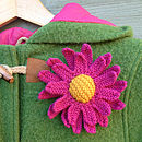 Three Daisies Knitting Kit