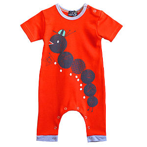 Caterpillar Romper For Baby - clothing