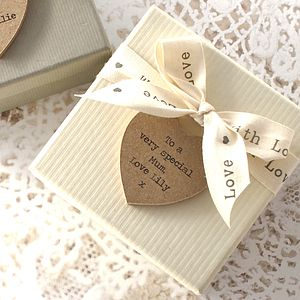 Personalised Gift Box - mother's day cards & wrap