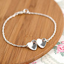 Bridesmaid gift silver bracelet