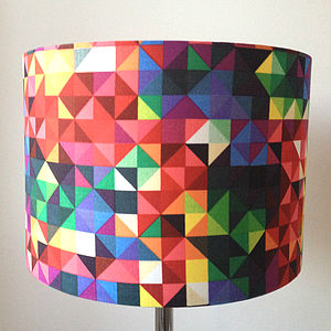 Geometric Spectrum Shade - lampshades