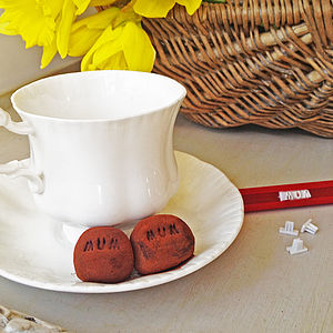 Make Your Own Personalised Truffles Kit - edible favours