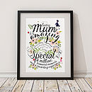 'Being Mum' Giclee Print