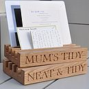 Mummy's Desk And Gadget Tidy