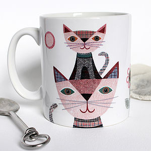 'Little Kitten' Personalised Cat Mug - dining room