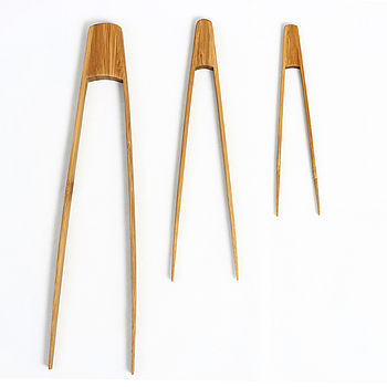 Bamboo Tongs - all sizes