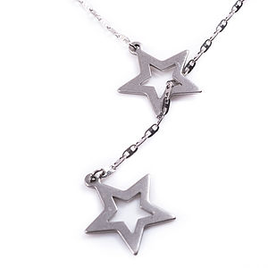 Seeing Stars Lariat Necklace