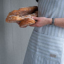 Ledbury Blue Grey Kitchen Apron