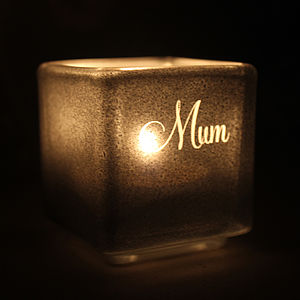 Mum Tealight Candle Holder - mother's day