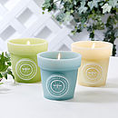 Large Citronella Candle