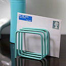 Letter Rack, Blue