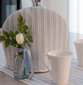 Ledbury Blue Grey Tea Cosy - kitchen accessories