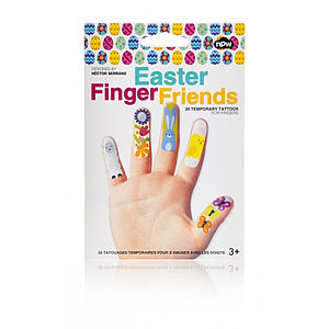 Easter Finger Temporary Tattoos - party bags and ideas