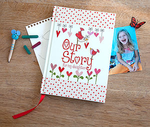 'Our Story For My Daughter' Journal - for new mothers