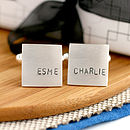 fathers day cufflinks children